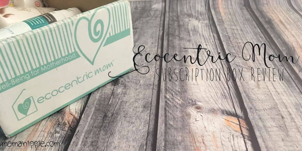 Ecocentric Mom is a subscription box with ecofriendly goodies for moms, babies, and moms to be. They contain natural and safe products great for any green family. They have 3 boxes available, a pregnancy box, a mom and baby box, and a mom box. Boxes contain a variety of both sample sized and full sized products, but the boxes are always worth more than what you pay. It's a great way to get introduced to new products and brands, and a great way to pamper yourself.