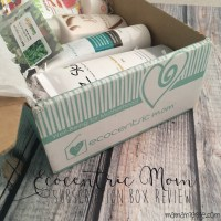 Ecocentric Mom Subscription Box Review – Natural Products for Natural Mamas