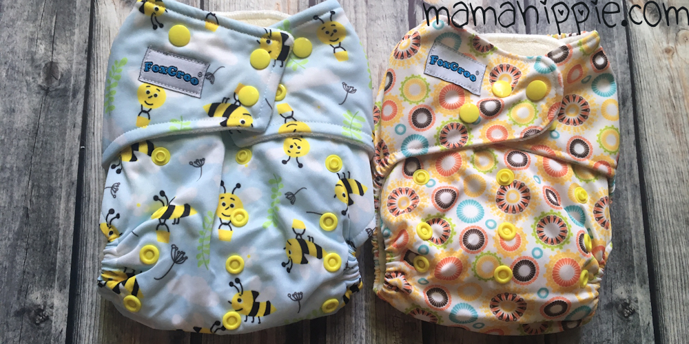 Foxgroo makes super cute cloth diapers. AIO, AI2, pockets and more! Great to build your diaper stash with!