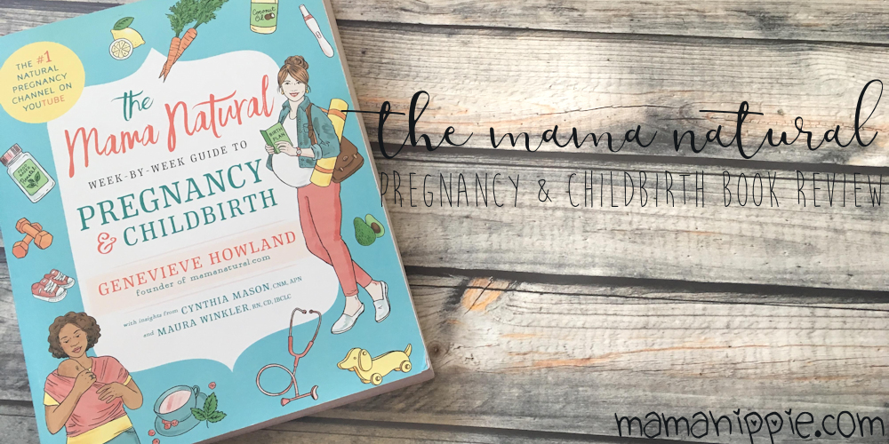 one thing that has been serious lacking is a week by week guide from a natural perspective. There's quite a few books with a week by week update, but all of them from a more medicalized point of view - which is fine if that's what you're looking for. Luckily, Mama Natural has us covered with the release of her new book, The Mama Natural Week by Week Guide to Pregnancy and Childbirth.