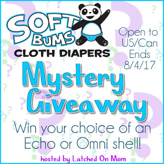 Softbums Cloth Diaper Giveaway (7/21/17-8/4/17 USA & Canada)