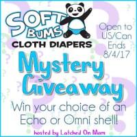 Softbums Cloth Diaper Giveaway (7/21/17-8/4/17 USA & Canada)
