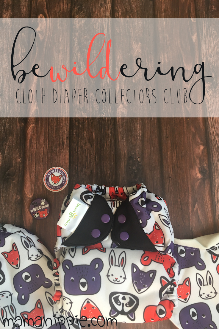 Ever wanted to get limited edition cloth diapers delivered right to your door? Cotton Babies now has a subscription service so you can do just that! This month is beWILDering, a cute little woodland creature doodle diaper.