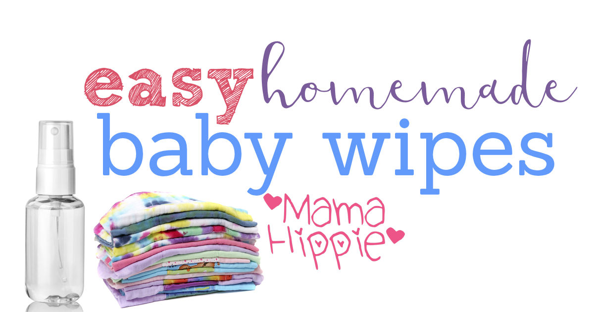 Baby wipes are expensive. Making your own baby products can be a great way to lessen the impact on your wallet and the environment. Learn how with this recipe for easy homemade baby wipes.