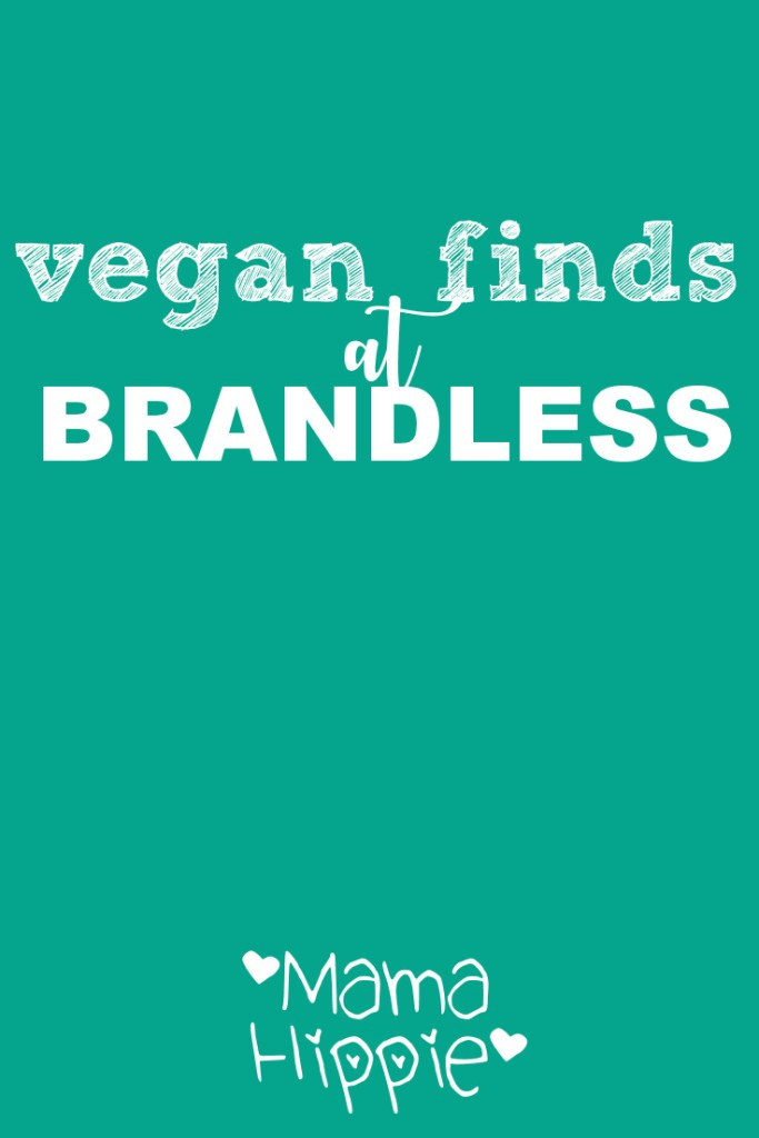 Vegan Deals at Brandless