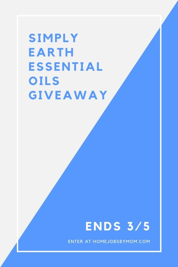 Simply Earth Essential Oils Giveaway ~ Ends 3/5 – USA/CA