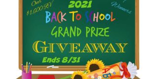 2021 Back to School Grand Prize Giveaway