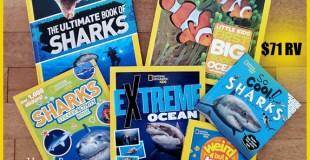 Nat Geo Kids Shark-tastic Book GIVEAWAY!
