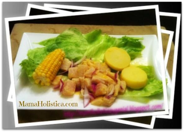 Recetas Holísticas: Ceviche. #RecetasCuaresma