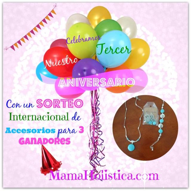 Intenciones ~ Miércoles Mudo/Wordless Wednesday: Celebramos Nuestro Tercer Aniversario en Mamá Holística
