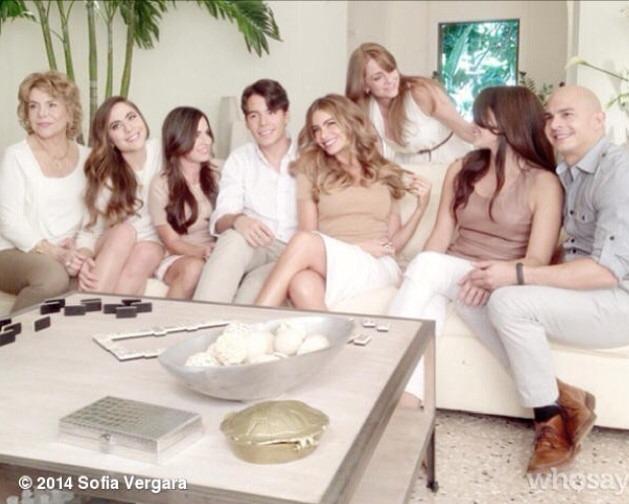 Casting para ser parte de la Familia de Sofia Vergara con @HeadShoulders #PartOfOurFamily
