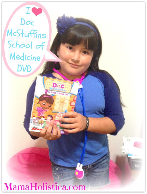El DVD Doc McStuffins School of Medicine sale a la Venta este 09/09. #DocMcStuffins @AlliedHispanic