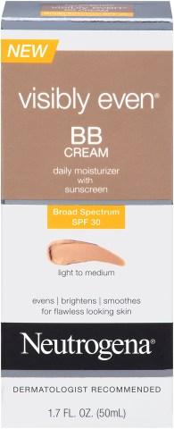 ¡Sandra Echeverría revela sus productos favoritos para lucir espectacular durante la época festiva! Visibly Even BB Cream Light to Medium.