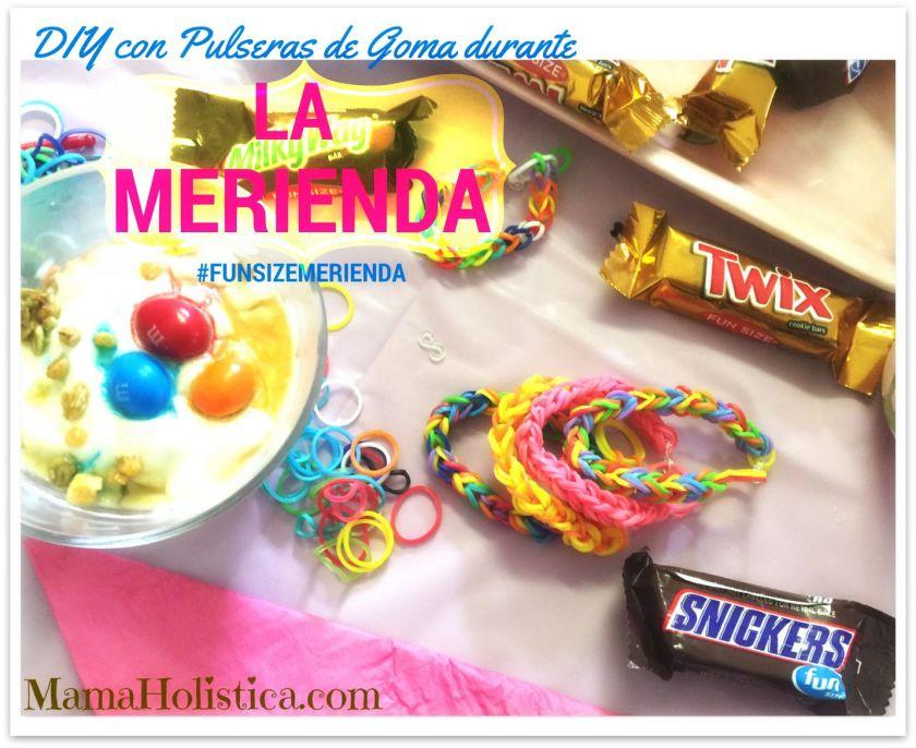 DIY Pulseras de Goma para la Hora de La Merienda #FunSizeMerienda #CollectiveBias #Ad