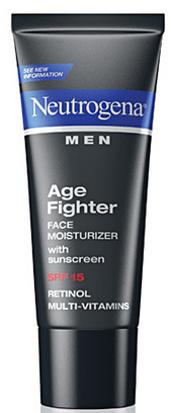 Neutrogena Men® Age Fighter Face Moisturizer with sunscreen SPF 15-Tips para Cuidar la Piel del Hombre de la Casa. Sorteo #YouGottaRespect