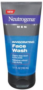 Neutrogena Men® Invigorating Face Wash~Tips para Cuidar la Piel del Hombre de la Casa. Sorteo #YouGottaRespect