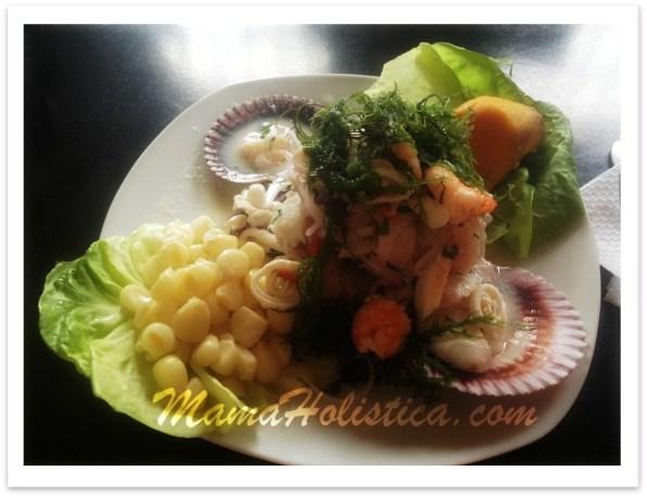 Recetas Holísticas: Ceviche de Mariscos #RecetasCuaresma