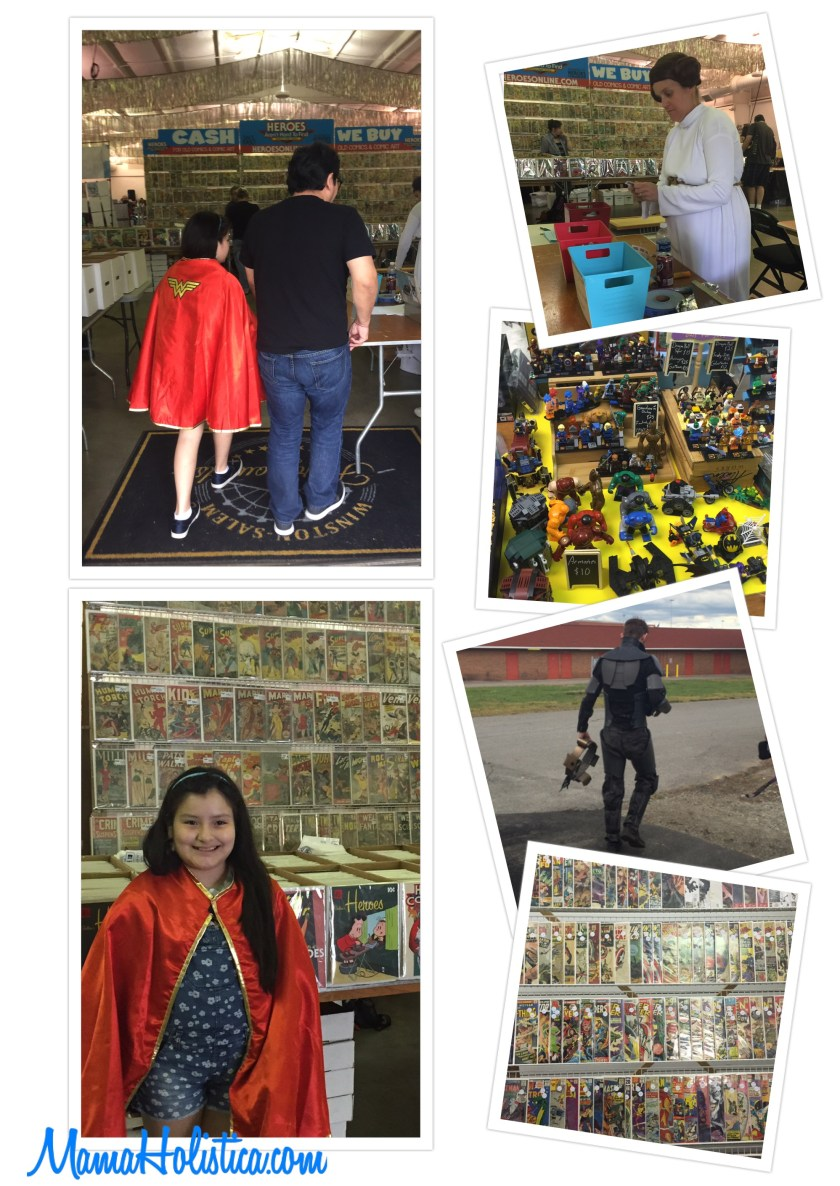 Miércoles Mudo/Wordless Wednesday: Visitando el Winston-Salem Comic con #MM