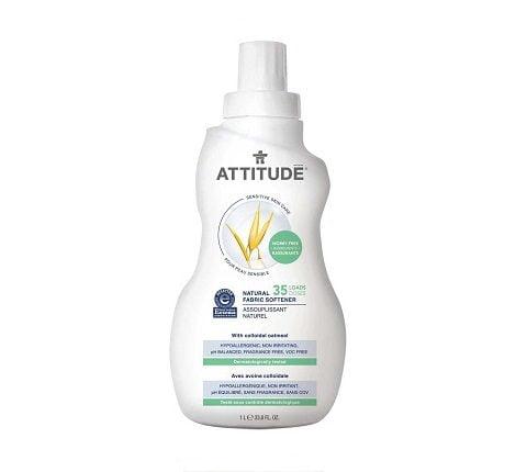 Ekologiškas skalbinių minkštiklis Attitude be kvapo 1L