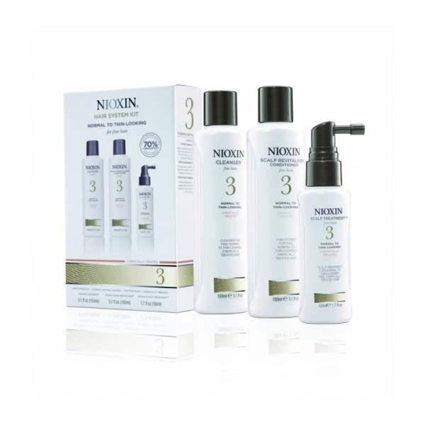 Galvos odos ir plaukų priežiūros rinkinys NIOXIN Nr.3