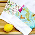Yarn Break Easy Diy Tea Towels Mama In A Stitch
