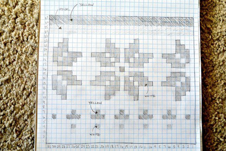 Snowflake Tapestry Crochet Graph