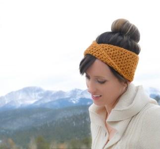 Easy Crochet free pattern headband