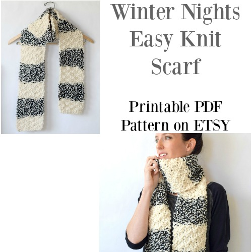 winter-nights-knit-scarf-etsy-pattern