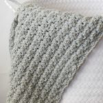 Simple Crocheted Blanket Go To Pattern Mama In A Stitch
