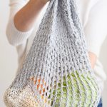 How To Knit A Market String Bag Mama In A Stitch