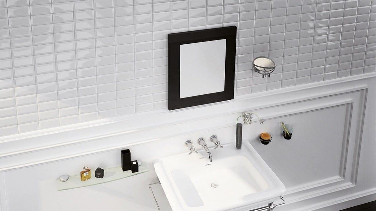 carrelage metro blanc brillant biseaute 7 5x15cm