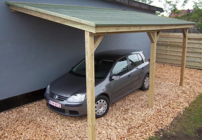 oser le bois pour son abri voiture