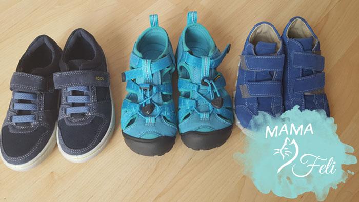 Schuhe shoppen getrennt