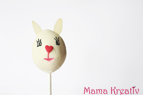 Cake Pops zu Ostern backen Hase