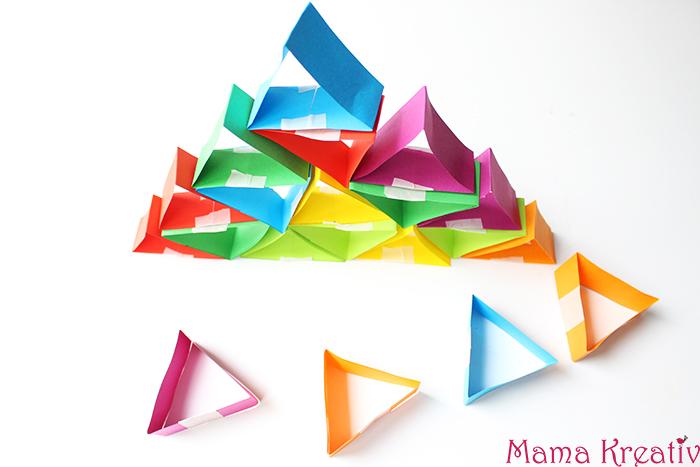 Basteln und Bauen mit Papier mit Kindern
