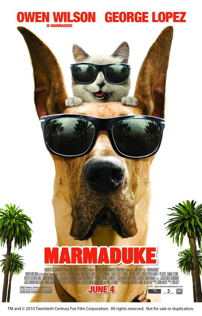 Marmaduke – a Giveaway