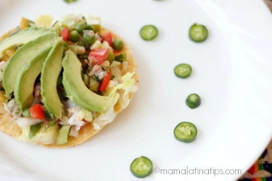Ensalada de Atún Mexicana (sin mayonesa)