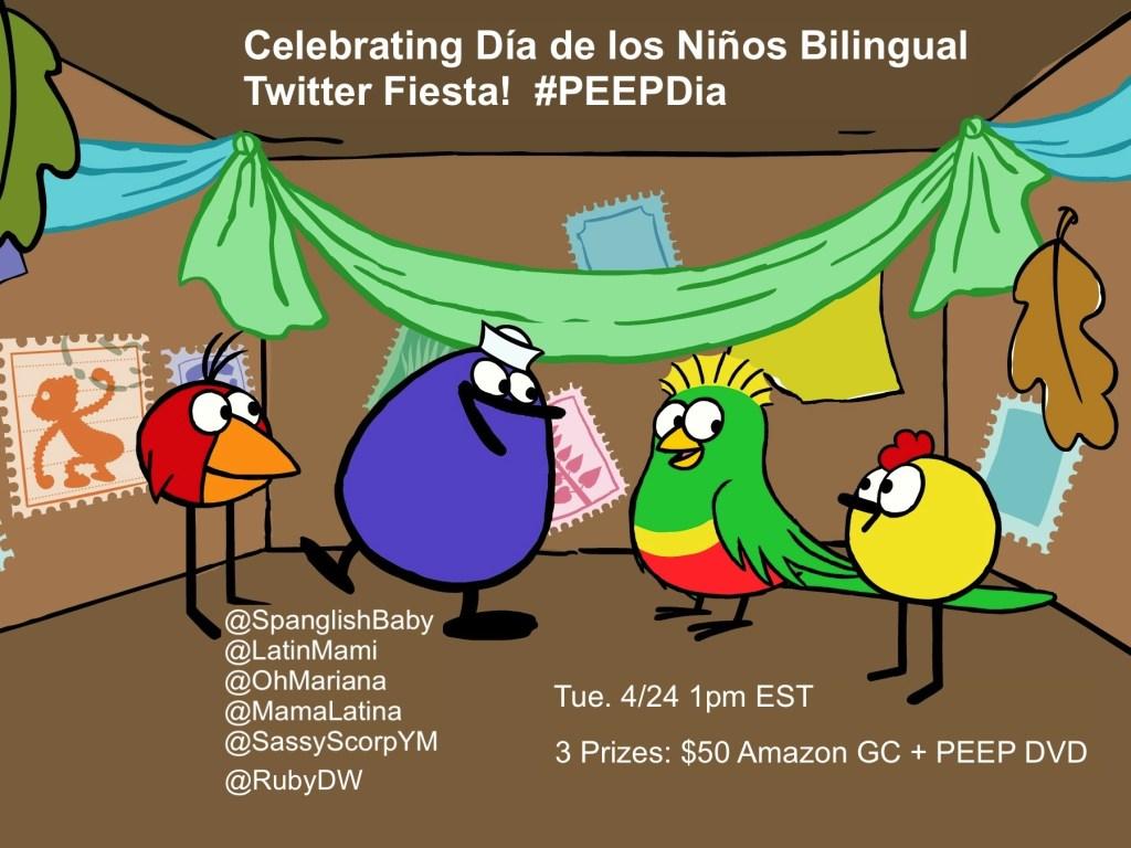 Children's Day (El Día de los Niños) Celebrations with Peep Bilingual Twitter Party