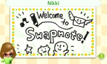 Swap Notes with Nintendo 3DS