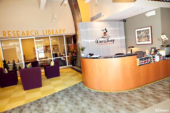 Disney Animation Library Lobby