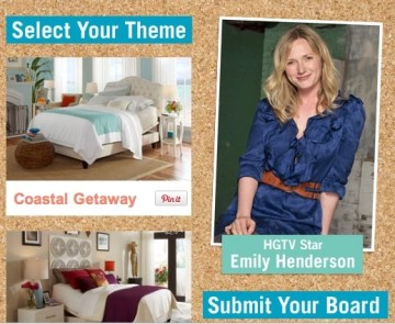 Design Your Dream Space with HDTV Star Emily Henderson for a Chance to Win $1,500 and a New Bed!