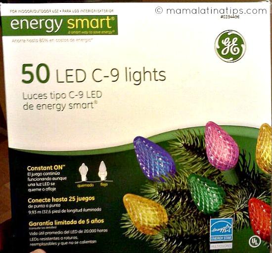 LED c-9 lights