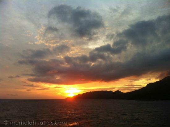 Sunset at Haiti