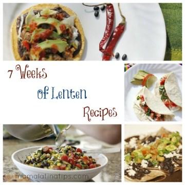 7 Weeks of Lenten Recipes