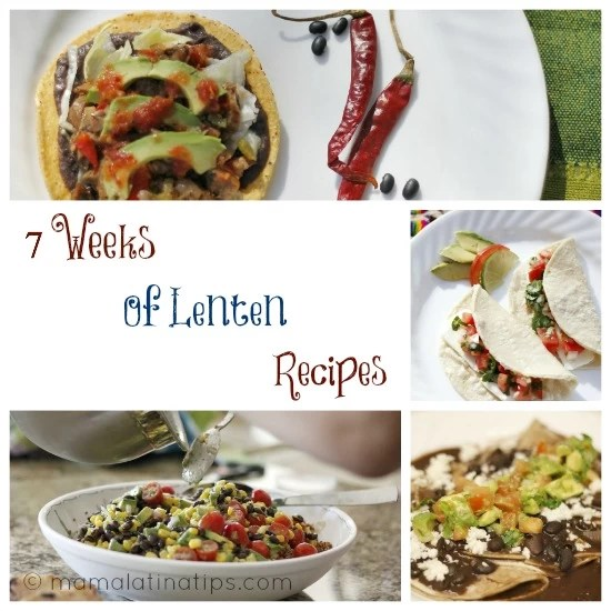 7 Weeks of Lenten Recipes