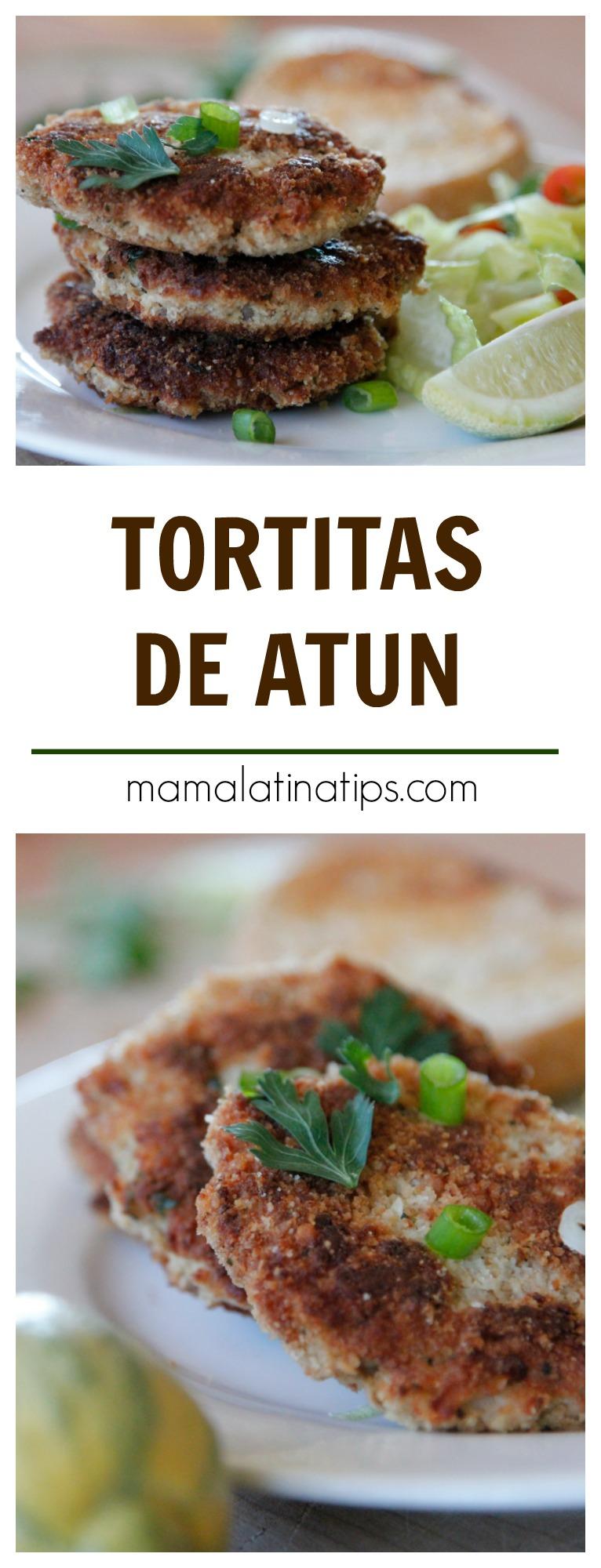 Fáciles de hacer y deliciosas, las tortitas de atún son ideales para toda la familia, especialmente para los niños. Tienen un delicado balance entre crujiente y un relleno suave. Perfectas para la cuaresma. #cuaresma #recetasmamalatinatips #tortitasdeatun #atun