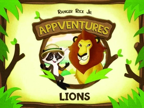 App for kids Nature Lions