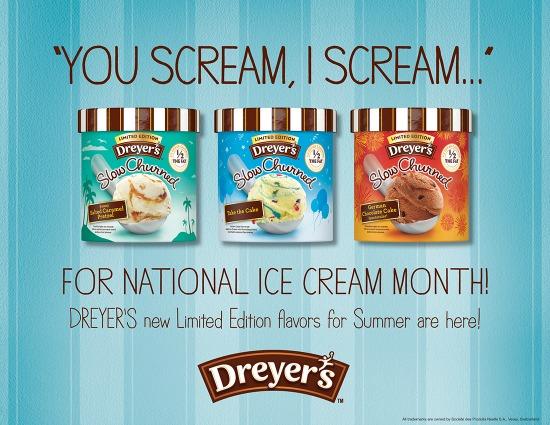 Ice cream month