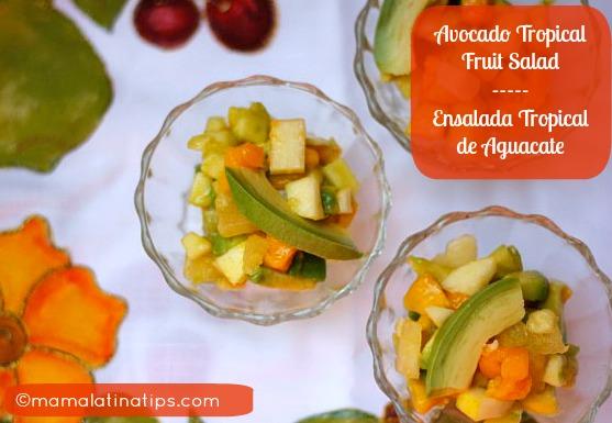 Avocado Tropical Fruit Salad