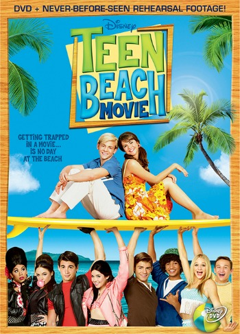 Disney Teen Beach Movie DVD – Giveaway